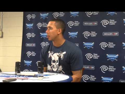 Michael Brantley on giving Corey Kluber an early lead