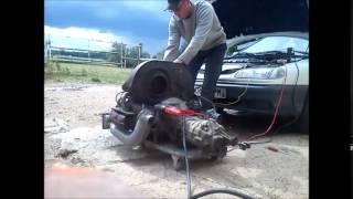 Démarrage moteur cox 1300