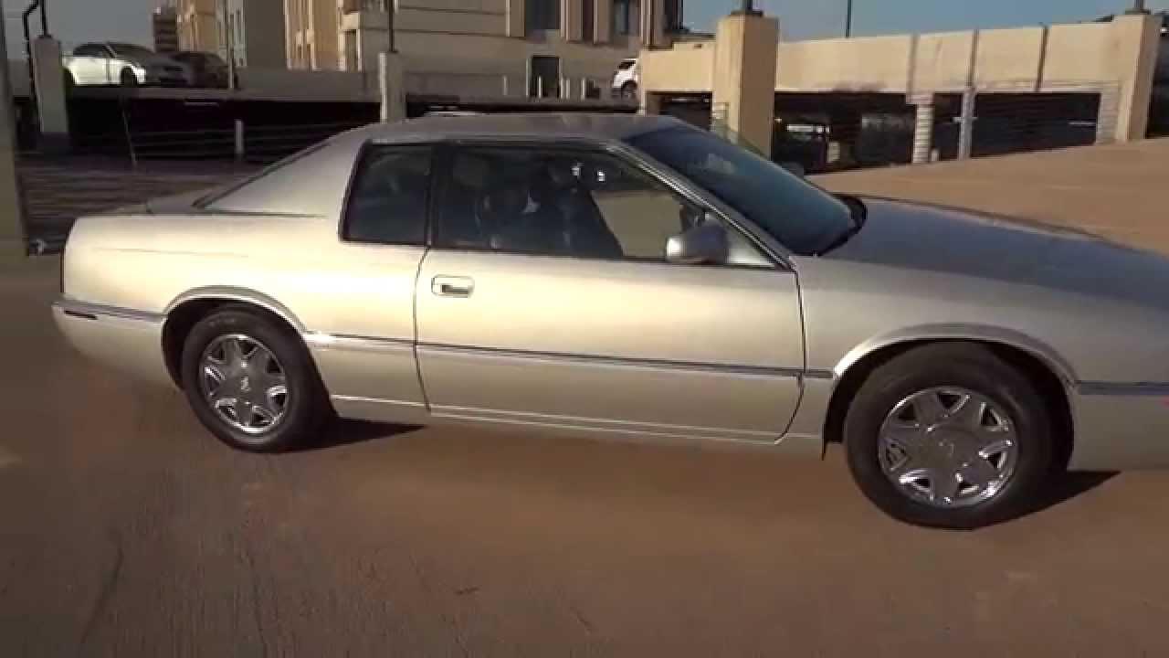 2002 Cadillac Eldorado ESC 68k Miles Silver For Sale - YouTube