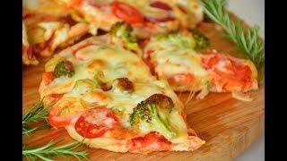 5  Dakikada  Fındık  Pizza Tarifi ( Bazlamadan çok pratik bir tarif)