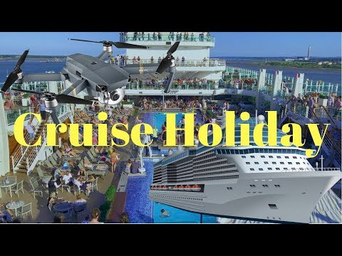CRUISE HOLIDAY TO GUERNSEY, SPAIN & FRANCE. DAY 1 @ SOUTHAMPTON