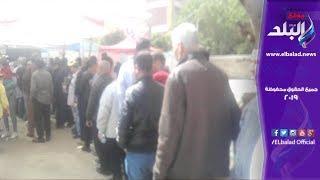 احتشاد المواطنين أمام لجنة الاتحاد القومي بشارع معروف .. فيديو