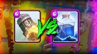 ROCKET VS LIGHTNING  ::  Clash Royale  ::  WHICH IS BETTER