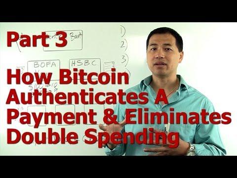 Part #3 - How Bitcoin Authenticates A Payment & Eliminates Double Spending - By Tai Zen