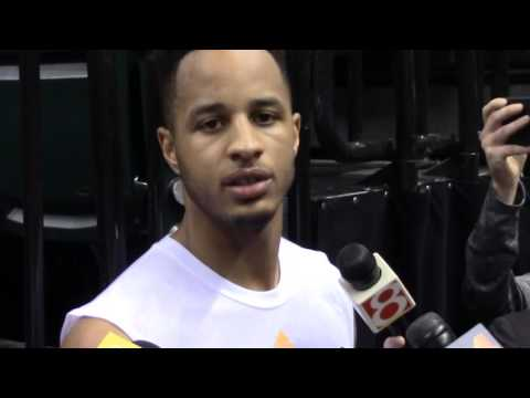 Vince Edwards Addresses the Media Following his Pre-Draft Workout