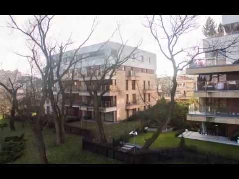 Apartament z widokiem na park w Miasteczku Wilanów