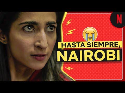 La Despedida De Nairobi Clip La Casa De Papel El Fenómeno Youtube