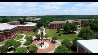 WSSU Campus From The Air 4K