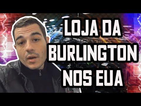 MELHOR QUE NO  OUTLET É SO NA LOJA DA  BURLINGTON NOS EUA