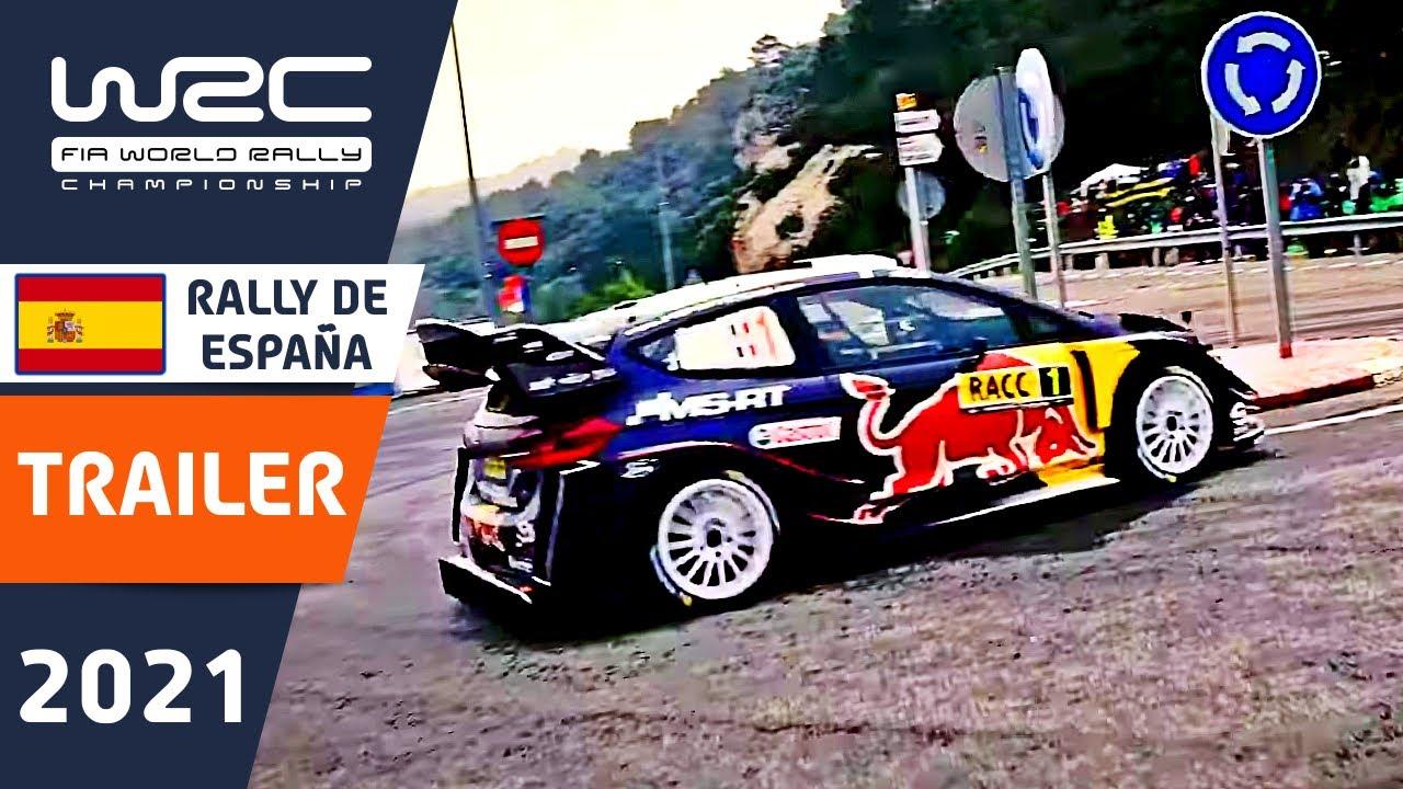 WRC Trailer - RallyRACC - Rally de España 2021: Watch LIVE on WRC+ All Live