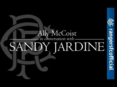 INTERVIEW: Ally McCoist In Conversation With Sandy Jardine