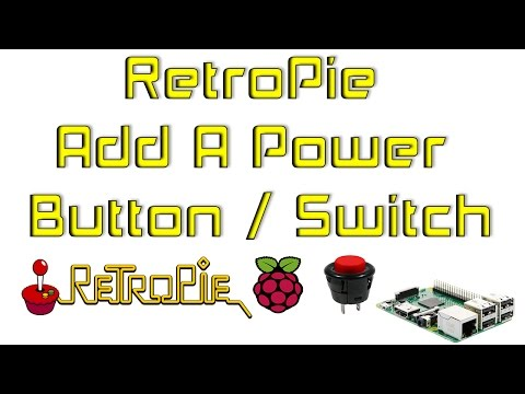 RetroPie Add A Power Button / Switch Raspberry Pi 1 2 3