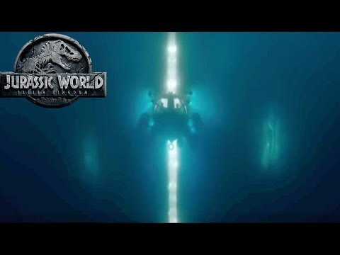Secret Mosasaurus Tank Entrance? Submarine Attack Scene | Jurassic World 2 Speculation