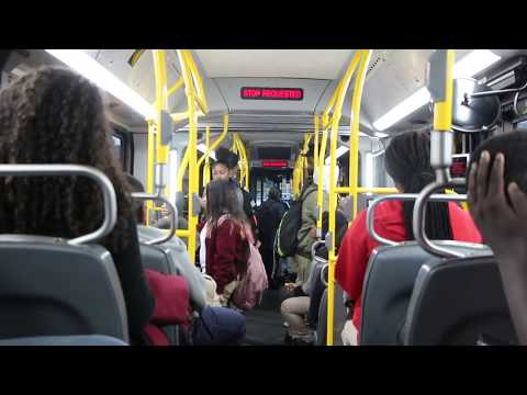 Exclusive! Onboard 2017 New Flyer XN60 #1016 on the Bx19
