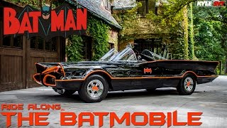 Batmobile Ride Along with Batman