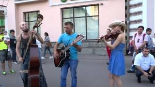 "Download КОРОЛЬ и ШУТ ""Лесник"" (cover, Старый Арбат, Москва) Mp3 and Videos"