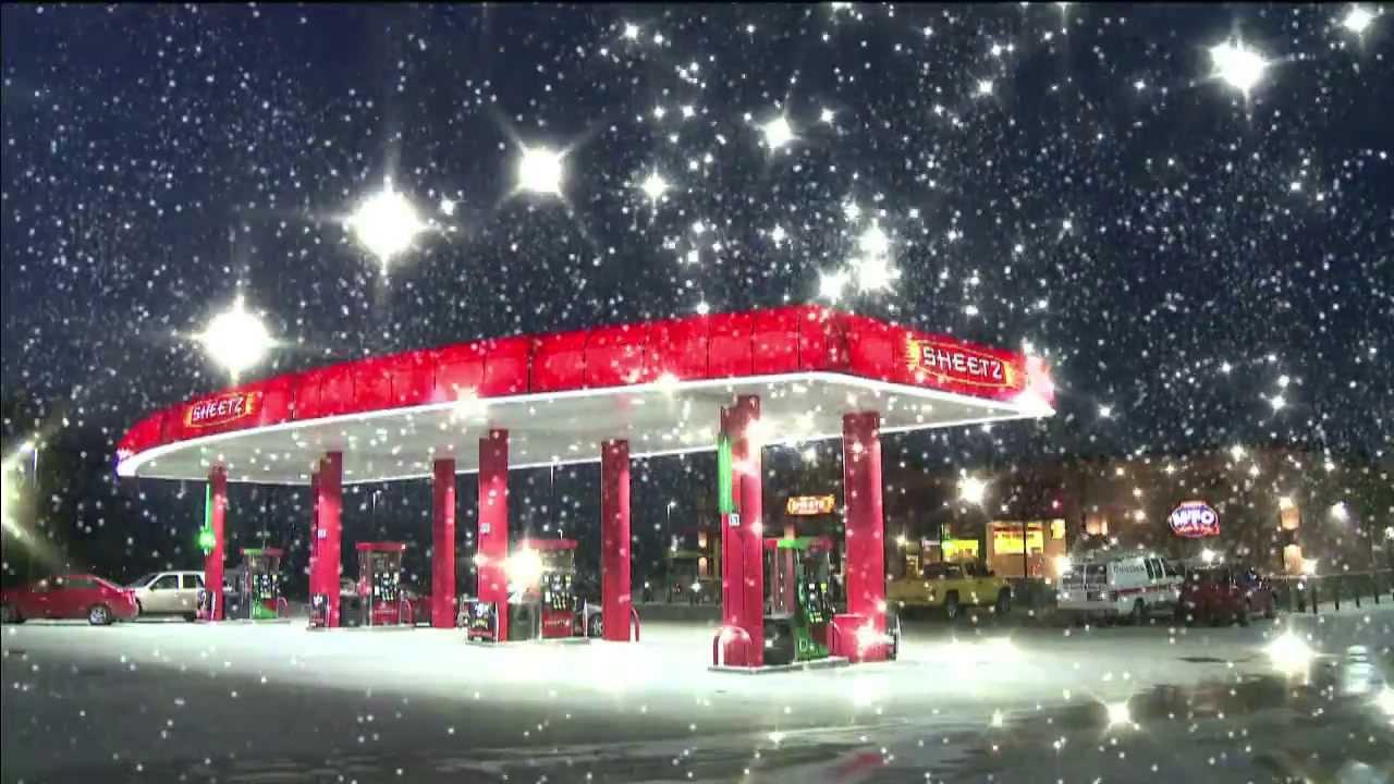 Twas the Night of Santa's Sheetz Run - YouTube