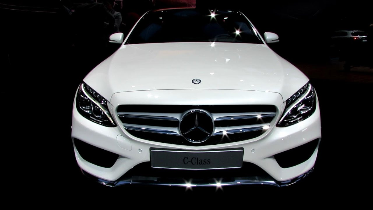 2015 mercedes benz c class c400 exterior and interior walkaround debut at 2014 detroit auto show youtube