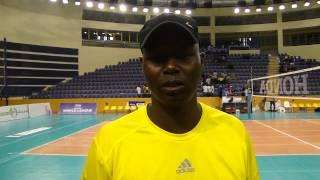Rwanda coach Paul Bitok speaking after match against Morocco