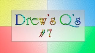 Drew's Q's - Sex Secrets & Hurricanes (#7)