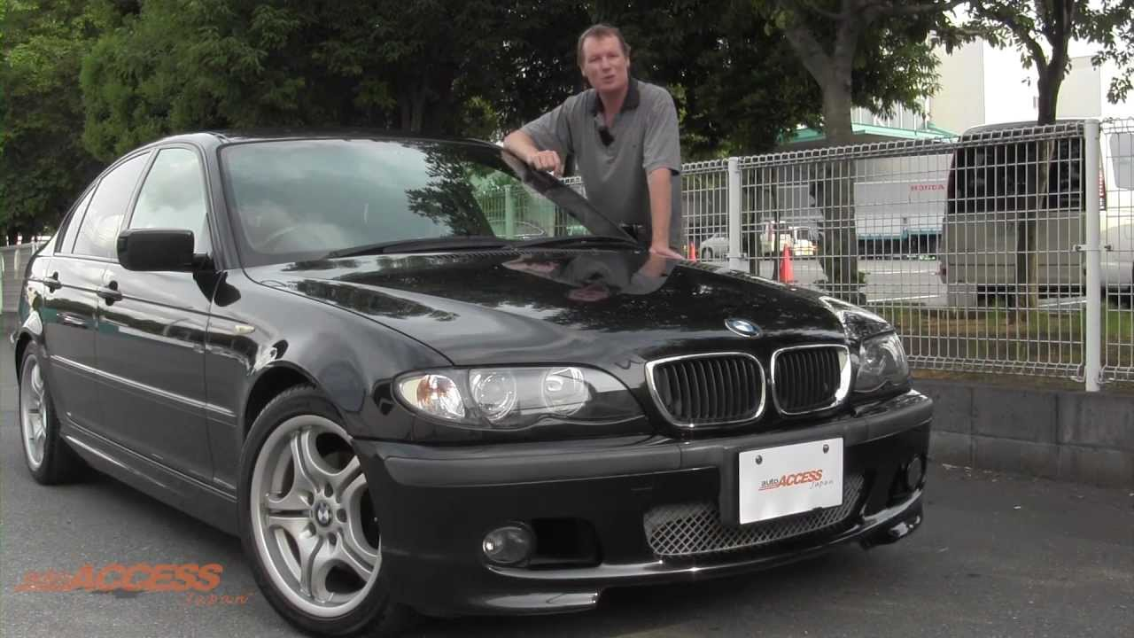 2004 bmw 318i 88k for sale direct from japan youtube. Black Bedroom Furniture Sets. Home Design Ideas
