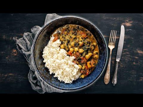 Weeknight Chickpea Curry | WEEKNIGHT VEGAN CHICKPEA CURRY |EASY COCONUT CURRY RECIPE |Chickpea Curry