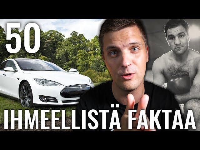 50 IHMEELLISTÄ FAKTAA MAAILMASTA #19
