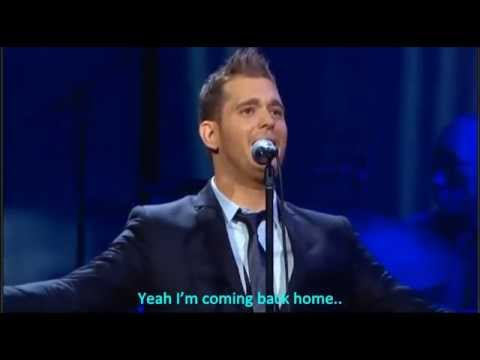 Michael Bublé - Home (LIVE at Madison Square Garden + Lyrics)