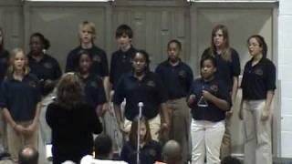 rhythm of the rain concert choir 2008 ccs fall concert