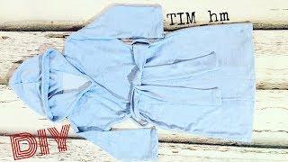 Как сшить детский махровый халат