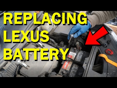 How To Replace the Battery on a Lexus RX350