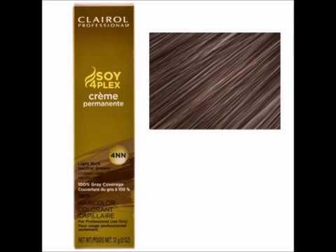 Clairol Professional Creme Permanente Hair Color 4nn Youtube
