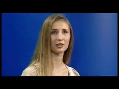 Claudia Ciesla's Interview for Italian TV.