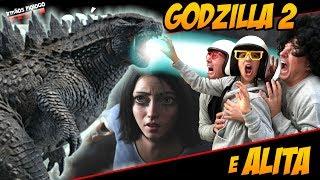🎬 Godzilla 2 e Alita - Análise dos Trailers - Irmãos Piologo Filmes