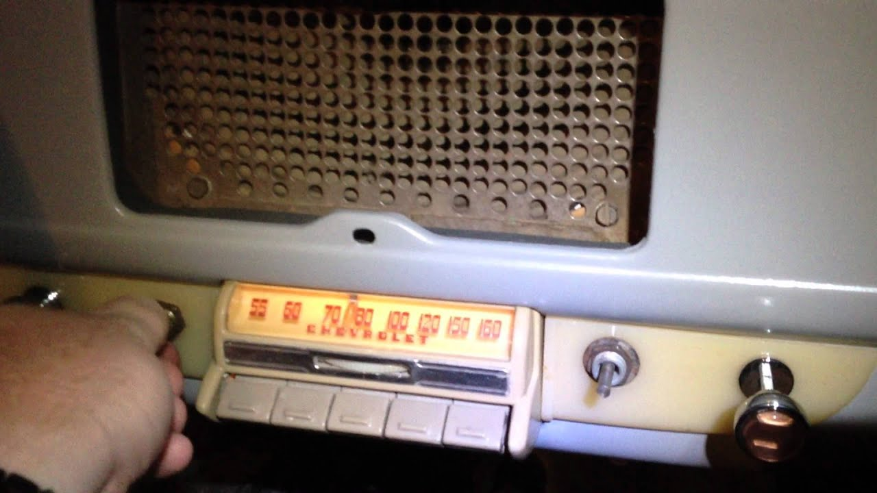 1941 chevrolet radio