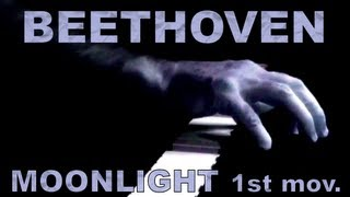 BEETHOVEN: Piano Sonata No. 14, Op. 27, No. 2, 1st mov. (Moonlight)