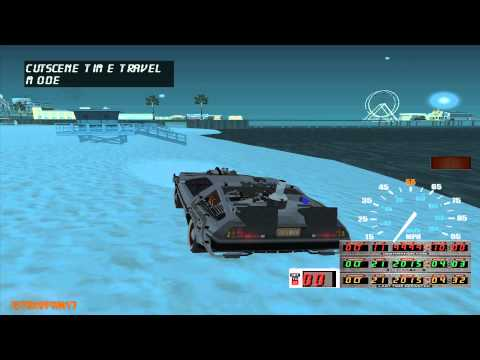 GTA SA - BTTF Mod - BTTF3 Car Wormhole SFX Change