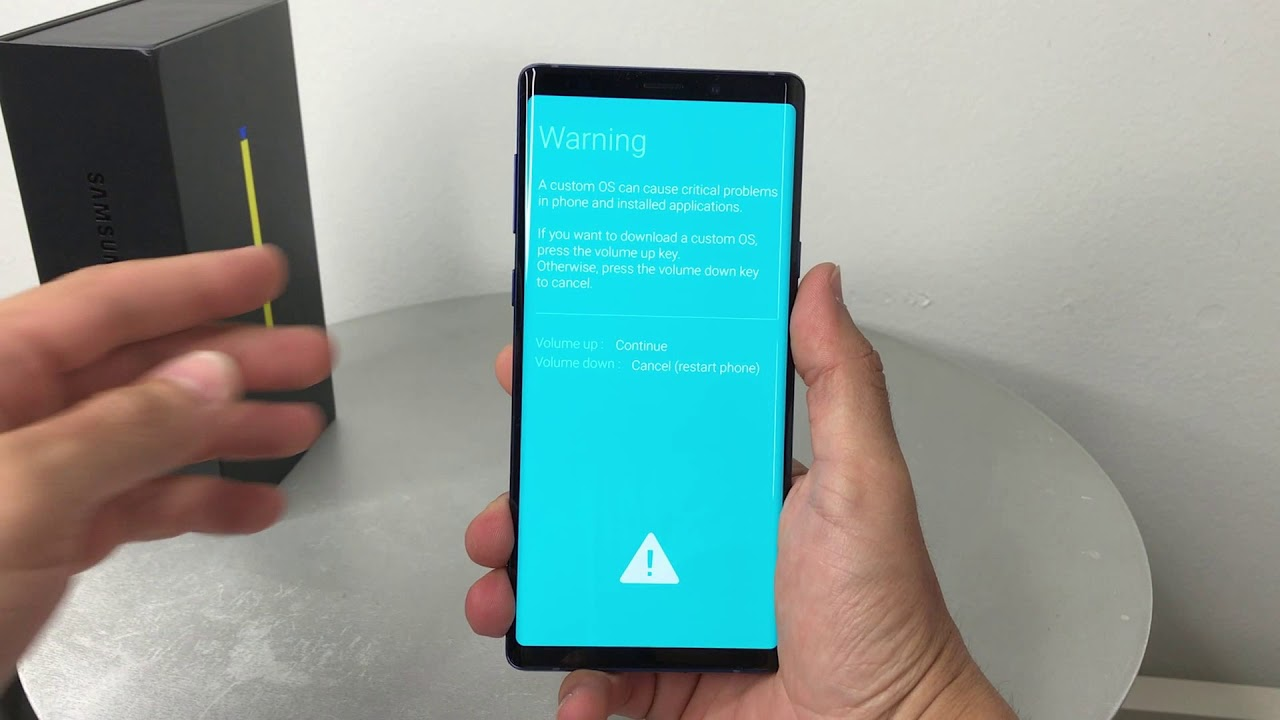 How to get Samsung Galaxy Note 9 IN & OUT of Download Mode