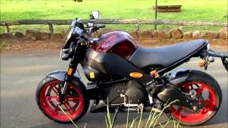 remus exhaust systems sound test buell xb12ss