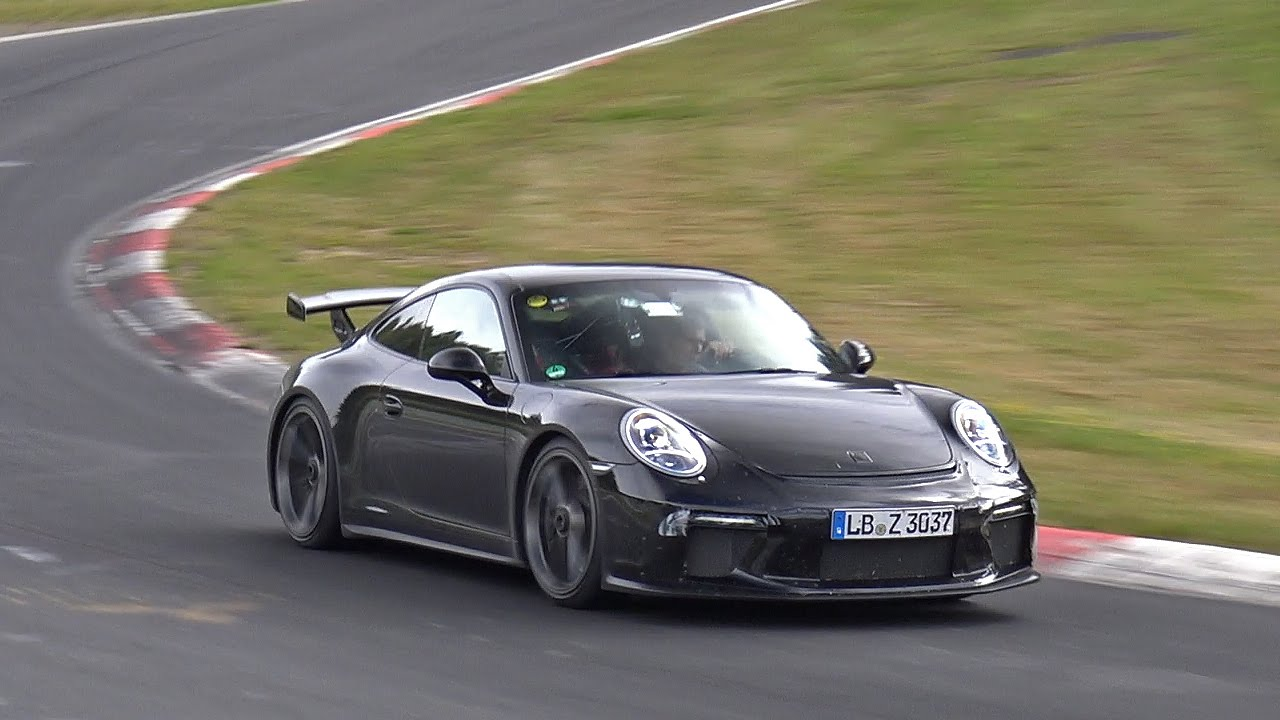 porsche 991 gt3 mkii still testing on the nordschleife youtube. Black Bedroom Furniture Sets. Home Design Ideas