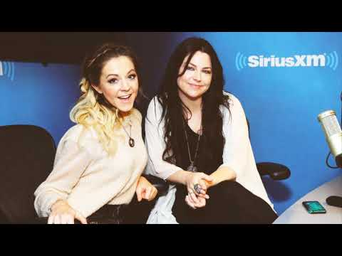 AMY LEE & LINDSEY STIRLING - Interview SiriusXM (AUDIO ONLY) (CC)