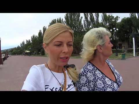 КРЫМ. Нарвались , но ОТМЫЛИСЬ! ДОРОГИ Ок ! Дешевое общение в Крыму 2017