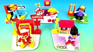 2018 JOLLIBEE FUN CITY JOLLY KIDDIE MEAL TOYS KIDS MEAL TOYS FUNKO POP 40 YEARS WORLD COLLECTION
