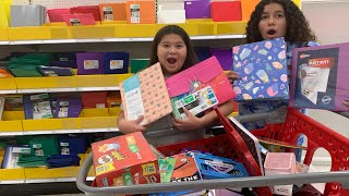 Back to School Shopping at Target! Huge Back to School Shopping Haul- School starts tomorrow