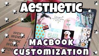 6 aesthetic ways to customize your macbook