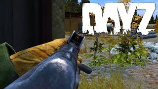 DayZ Standalone - Auf zum Airfield - Ghillie Suit Squad?! [Gameplay] Let