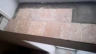 Плитка травертин Toscana 10x10  плитка 0,5 м2   производство: Турция