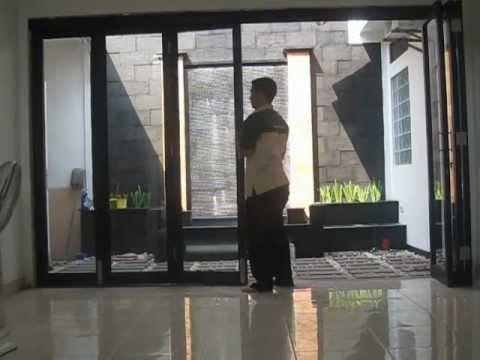 Pintu Lipat Taman Aluminium Kaca Penyekat Ruang Taman By