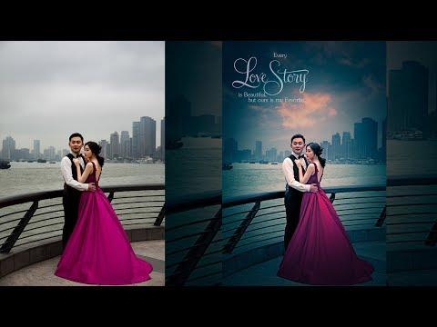 Pre Wedding Photo Editing Photoshop In Hindi