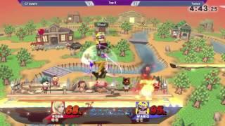SKTAR 4 - Tweek (Wario) vs Salem (Robin/Sheik)